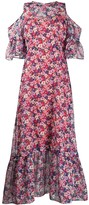 Twin-Set Twin Set floral print chiffon maxi dress