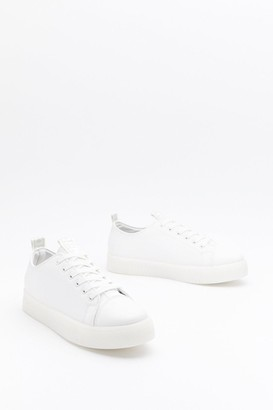 Nasty Gal Womens Ice to Meet You Trainers - white - 3
