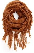 BP Chunky Knit Fringe Scarf