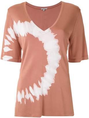 Alcaçuz Martineli tie-dye blouse