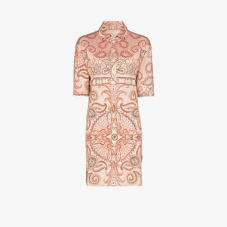 Etro Paisley Print Mini Dress