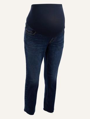 Old Navy Maternity Full Panel Boyfriend Cut-Off Jeans