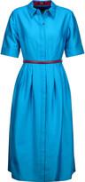 Raoul Soho wool and silk-blend dress
