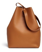 Creatures of Comfort 'Apple' medium pebbled leather shoulder bag