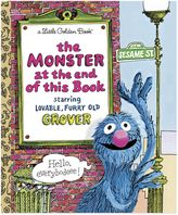 """Sesame Street The Monster at the End of This Book"""" Little Golden Book®"""
