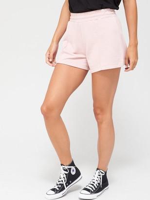 Very Seam Detail Sweat Shorts - Blush