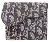 Christian Dior Diorissimo Saddle Compact Wallet