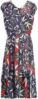 Tory Burch Printed silk wrap dress