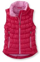 L.L. Bean Girls Scrunch Down Vest