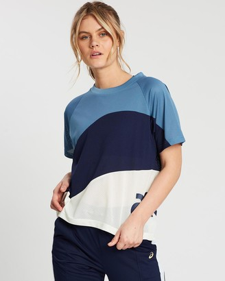 Asics Jersey Sports Moment Short Sleeved Tee - Women's