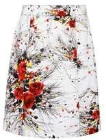 Prada Exclusive to mytheresa.com – printed denim skirt