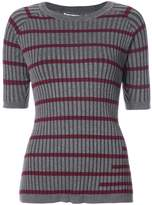 Alexander Wang striped knitted top