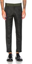 Haider Ackermann Classic Contrast Waistband Trousers