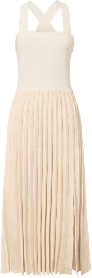 Derek Lam 10 Crosby Pleated Skirt Midi Dress