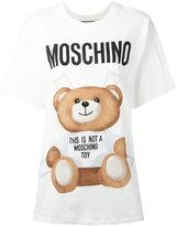 Moschino Paper Doll bear t-shirt - women - Cotton - M