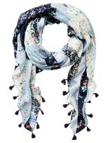 Jeanswest Freya Scarf-Ocean Multi-00
