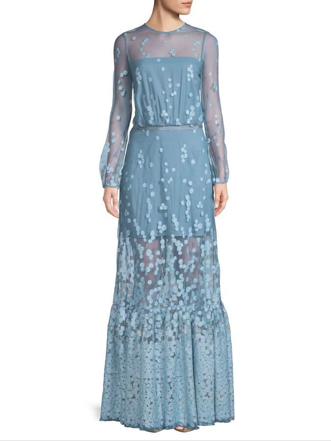 Alexis Women's Embroidery Maxi Dress