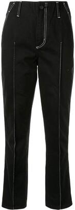 Nobody Denim Nero straight-leg jeans