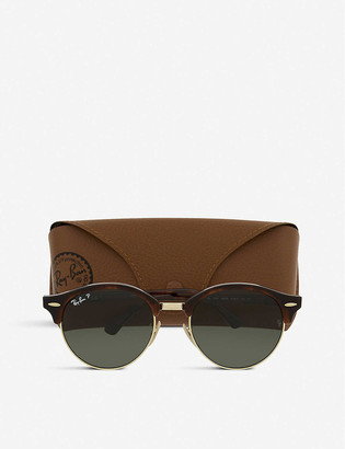 Ray-Ban RB4246 Clubround havana sunglasses