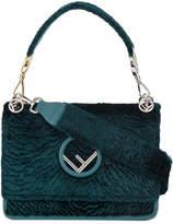 Fendi Green Velvet Kan I F handbag