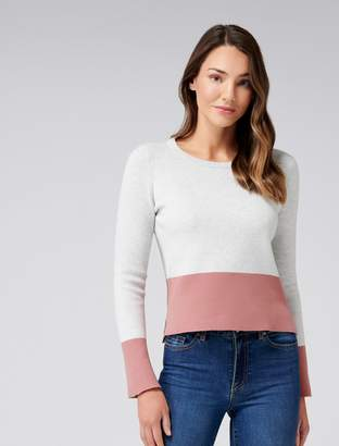 Ever New Elsie Colour Block Jumper