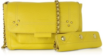 Jerome Dreyfuss Lulu S Mimosa Leather Shoulder Bag