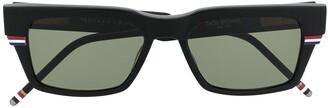 Thom Browne RWB square frame sunglasses