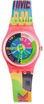 Vintage Swatch Neon Everywhere Watch
