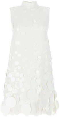 Prada Sequin Embellished Mini Dress