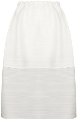 Pleats Please Issey Miyake Plisse Pleated Layered Skirt