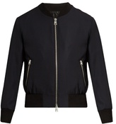 Ami Teddy-collar Wool Bomber Jacket