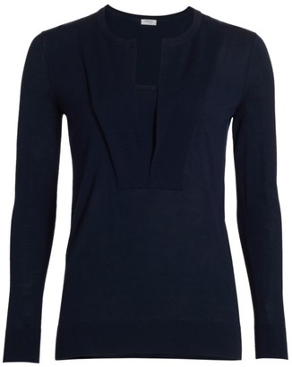 Akris Punto Trompe L'oeil Long Sleeve Sweater