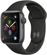 Apple Watch Series 4 (GPS), 40mm Space Grey Aluminium Case With Black Sport Band