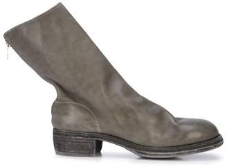 Guidi Back Zipped Boots
