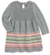 Tea Collection 'Umeboshi' Sweater Dress (Baby Girls)