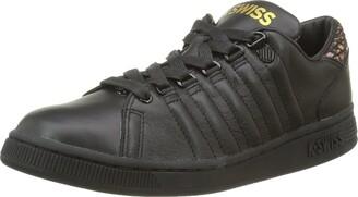 K-Swiss LOZANIII TT RPTLGLM Women's Low-Top Low-Top Sneakers Schwarz (Black/Black/Gold) 4 UK (37 EU)