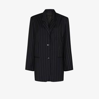 Frankie Shop Pernille oversized pinstripe blazer