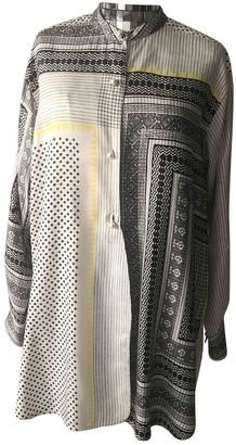 Etro Grey Silk Top for Women