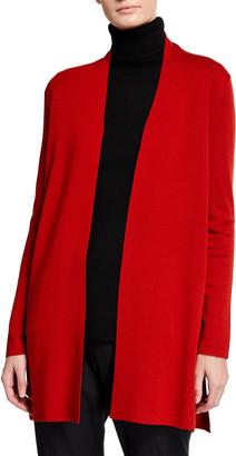 Eileen Fisher Ultrafine Merino Wool Cardigan