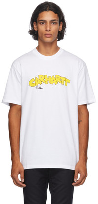 Carhartt Work In Progress White Loony Script T-Shirt