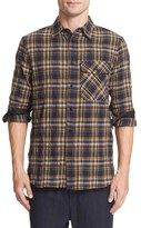 Rag & Bone Men's Cpo Cotton & Wool Plaid Flannel Shirt