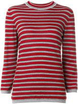 Marni striped sweater - women - Silk/Virgin Wool - 42