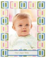 """Merry Go Round Pitter Patter """"Our New Baby"""" 5 x 7 Frame"""