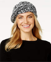Charter Club Velvety Marled Chenille Beret, Only at Macy's