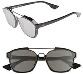 Christian Dior Women's 'Abstract' 58Mm Sunglasses - Black