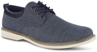 Members Only Men's Lace-Up Chambray Oxfords