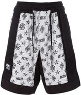Kokon To Zai monogram Inside Out shorts - men - Cotton - S