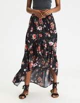 American Eagle Outfitters AE Hi-Low Maxi Skirt