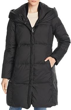 MICHAEL Michael Kors Hooded Shawl Collar Puffer Coat