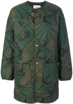 Carhartt camouflage quilted field jacket